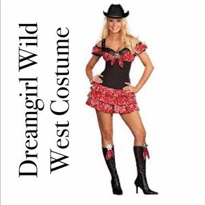 Dreamgirl cowgirl western Wild West costum